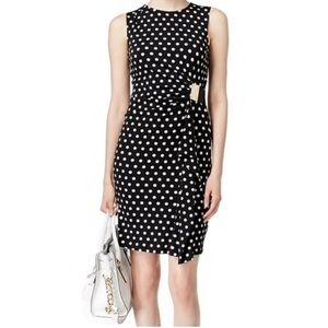 Michael Kors polka dot mini dress